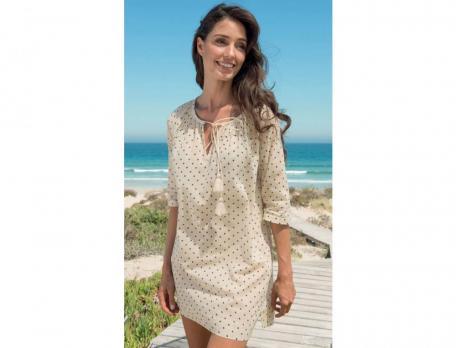 Strandkleid Senegal Baumwolle