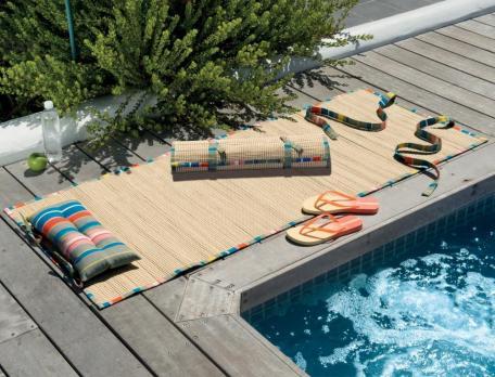 Strandmatte Halbinsel Baumwolle Polyester