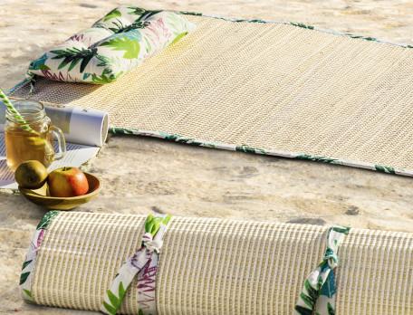 Strandmatte Tahiti Stroh Linvosges