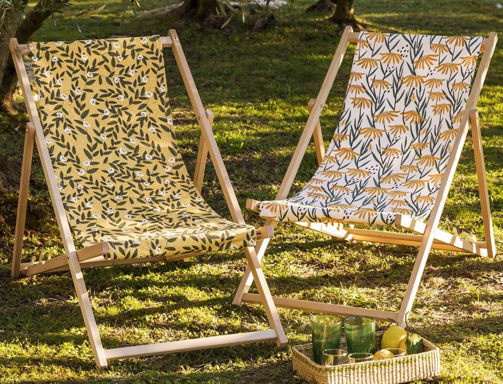 Stuhlbezug für Klapp- und Strandstühle Sonnenanbeter