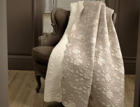 Tagesdecke Französische Romantik Baumwolle Linvosges