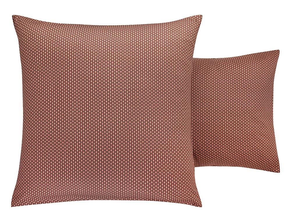 Taie d'oreiller satin 100% coton imprimée Cravate