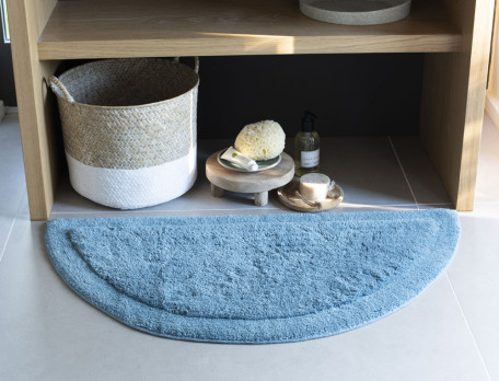 Tapis de bain bath demi lune linvosges for Tapis de cuisine demi lune