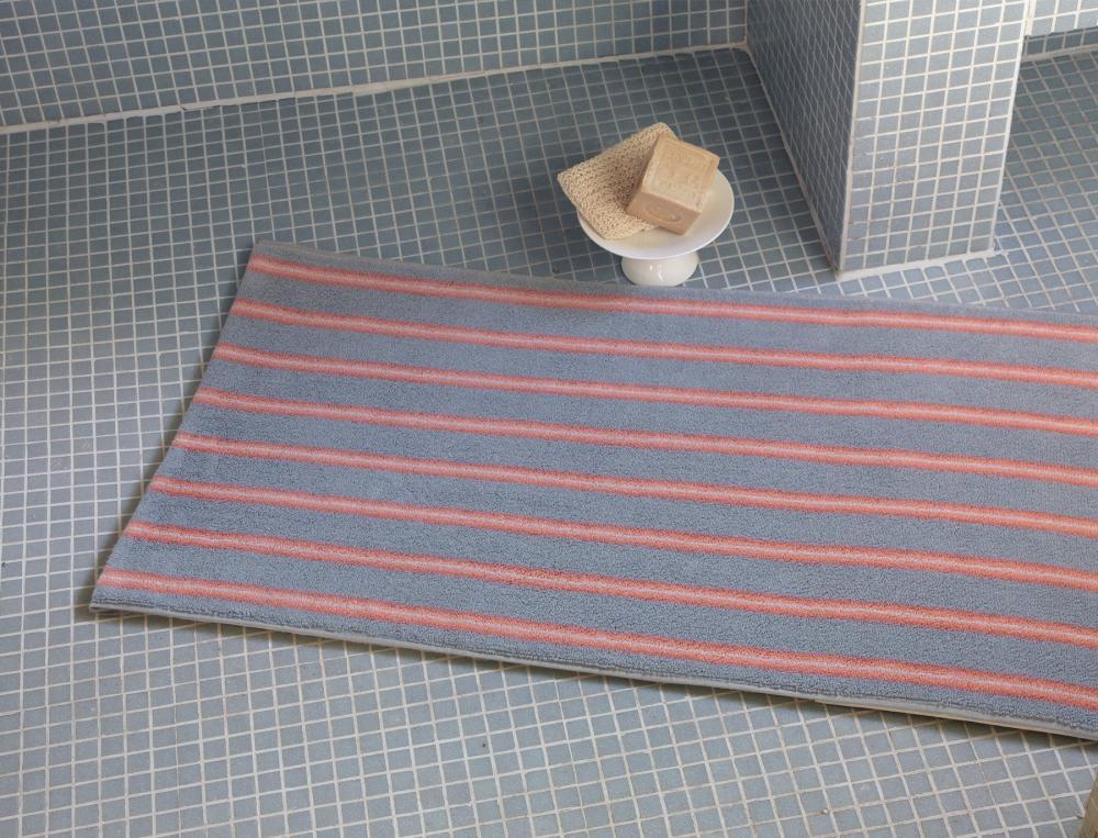 Tapis de bain rayé Essaouira