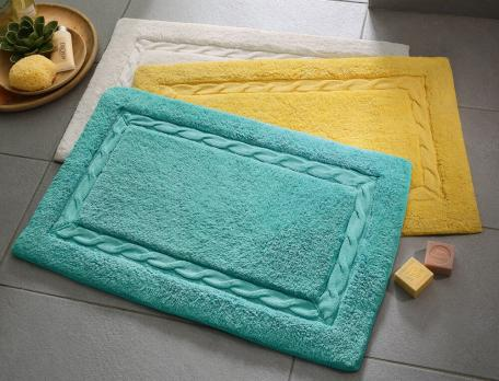 tapis de bain torsade linvosges. Black Bedroom Furniture Sets. Home Design Ideas