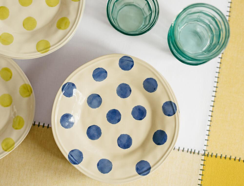 Keramik-Teller bienenstock Linvosges