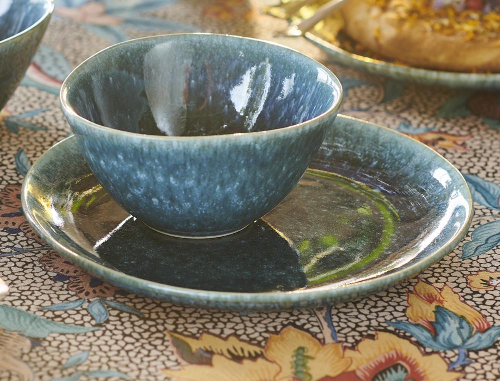 Teller Reise nach Indien Keramik Linvosges