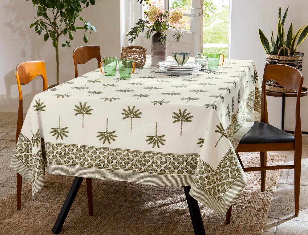 Tischdecke mit Fleckschutz Mallorca