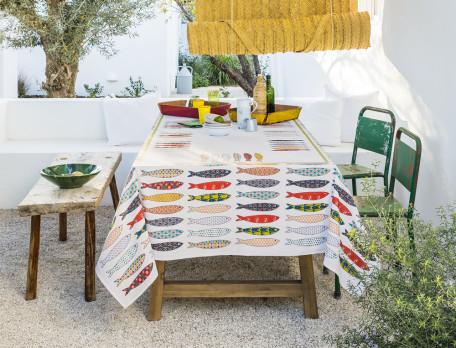 Tischdecke Sardinien Baumwolle Linvosges
