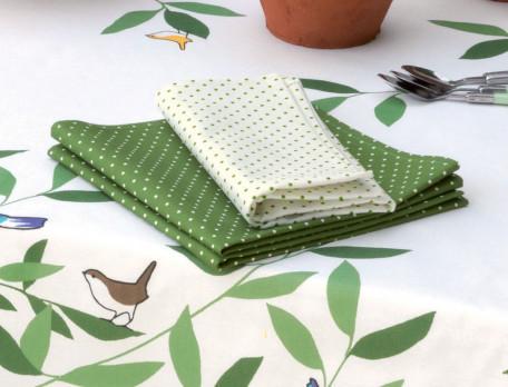 Tischdecke Vogelgezwitscher Baumwolle