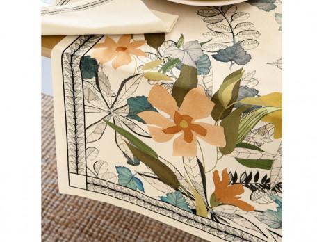 Tischläufer Blumenmotiv Blütezeit
