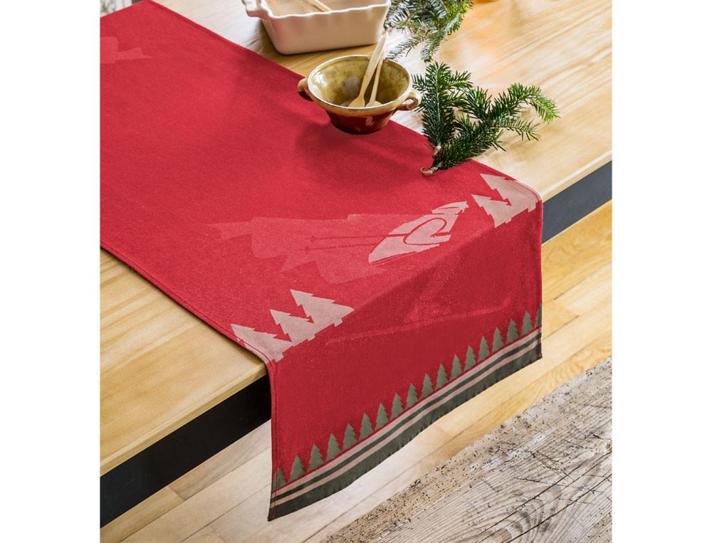 Tischläufer Jacquard Weihnachtsbrunch