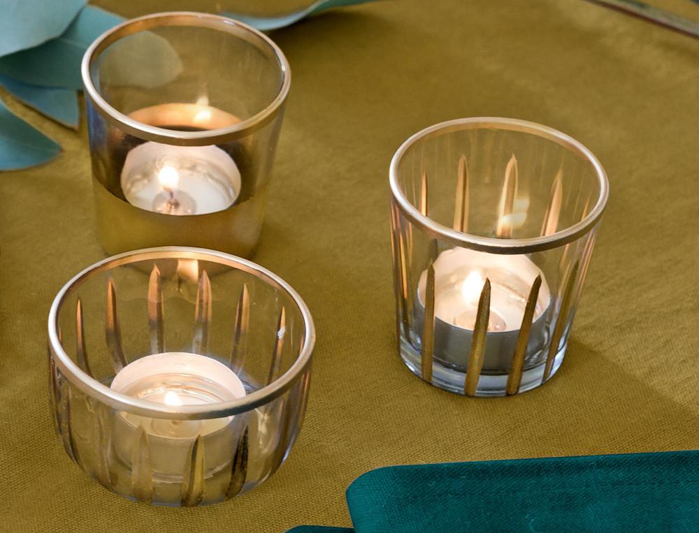 Tischlichter Weihnachtsmarkt Glas Linvosges