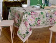 Tischwäsche Blütenparadies Baumwolle Linvosges