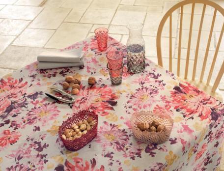 Tischwäsche Blumenstrauch Linvosges