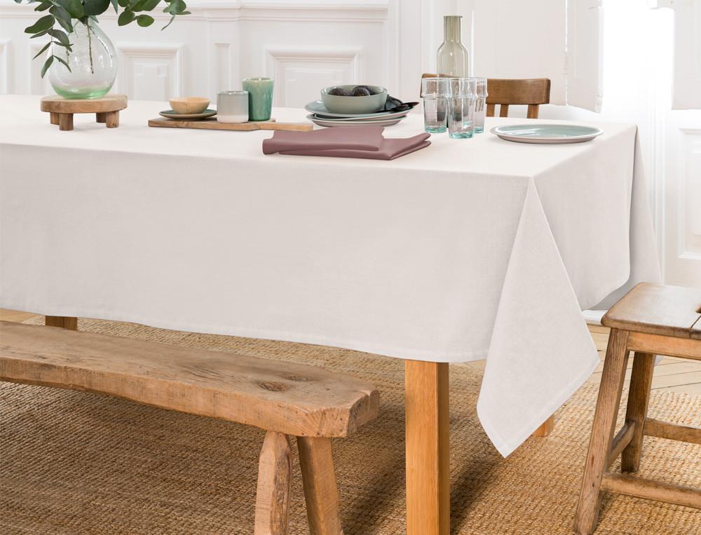 Tischwäsche einfarbig Farandole Baumwolle Fleckschutz Linvosges