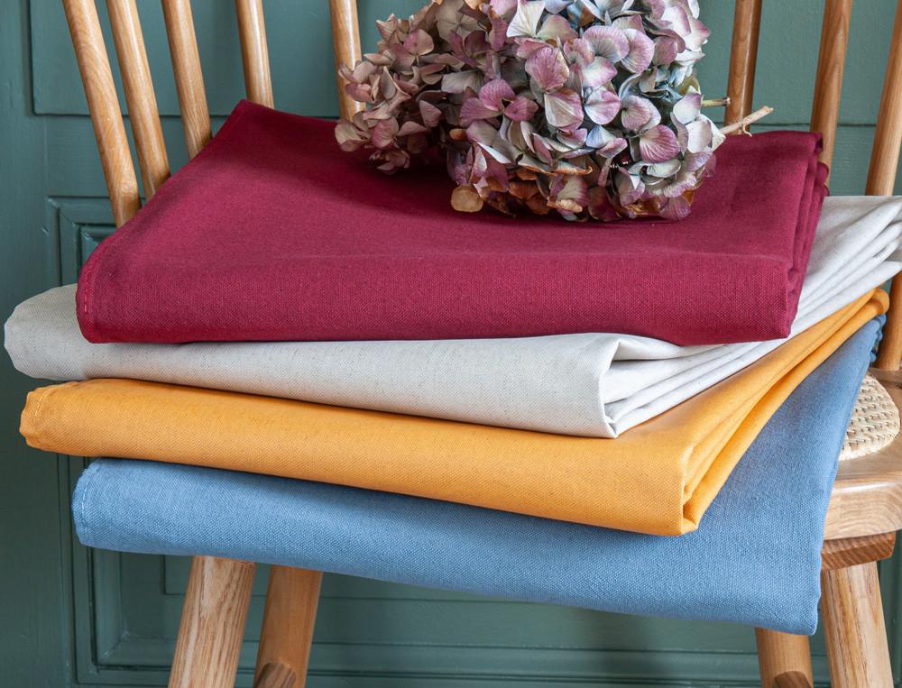 Tischwäsche einfarbig Tag für Tag Teflon Fleckschutz Linvosges