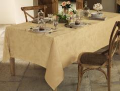 Tischdecke Eleganz Winter mit Teflonbeschichtung