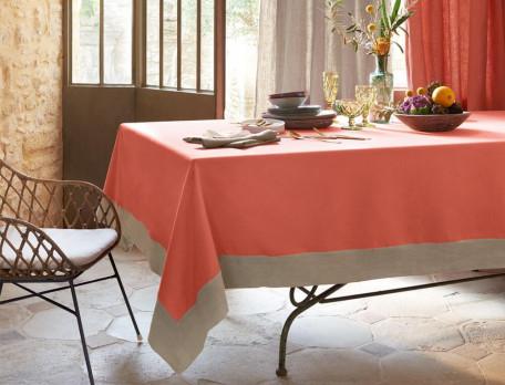 Tischwäsche Erdfarben Baumwolle Linvosges