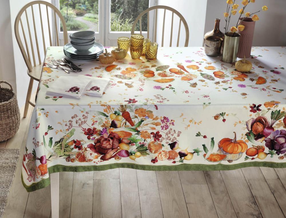 Tischwäsche Erntedankfest Baumwolle Linvosges