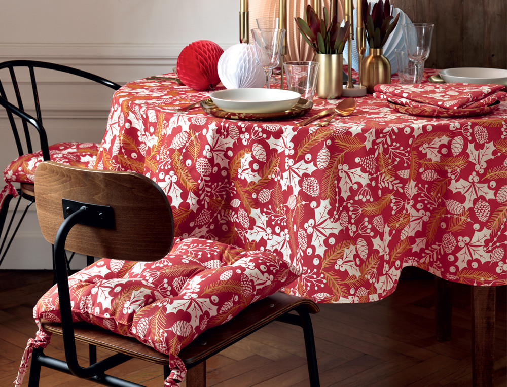 Tischwäsche Granatapfel Baumwolle Linvosges