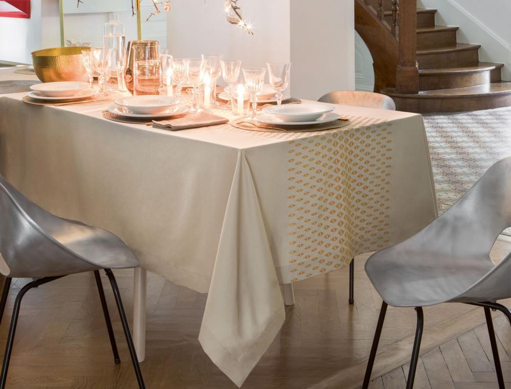 Tischwäsche Silvesterabend Linvosges Baumwolle