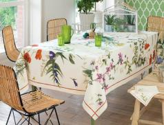 Tischwäsche Wildblumen Baumwolle Linvosges