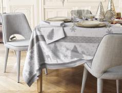 Tischwäsche mit Fleckschutz Wintertanne