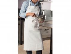 Tablier en lin Toque en cuisine
