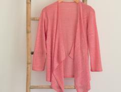 Veste chinée rose Héliades