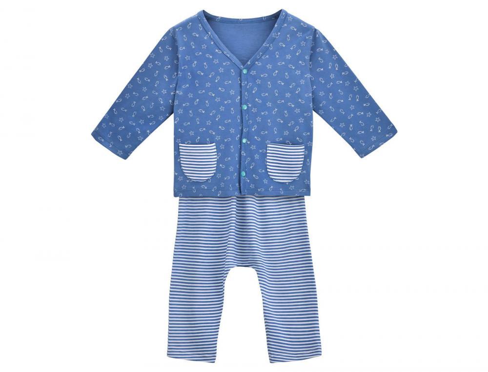 Ensemble gilet et pantalon bébé Étoile de mer