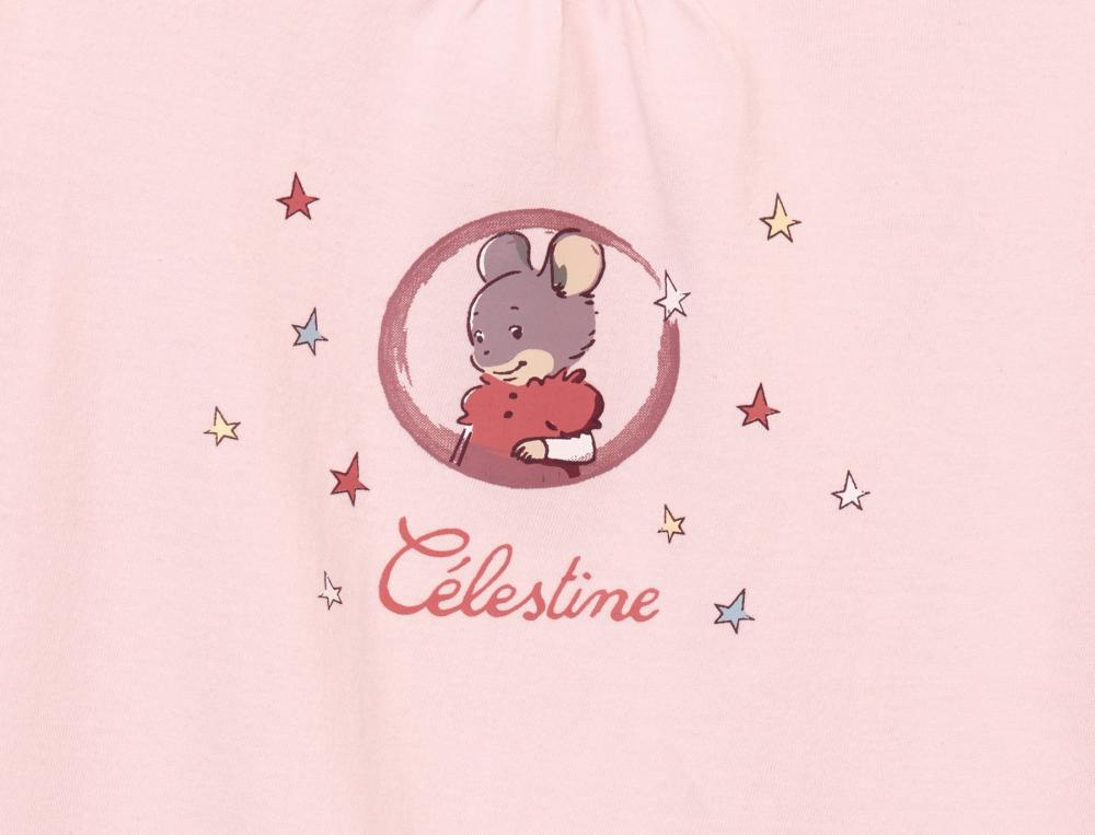 Pyjama enfant et pyjashort enfant Ernest et Célestine