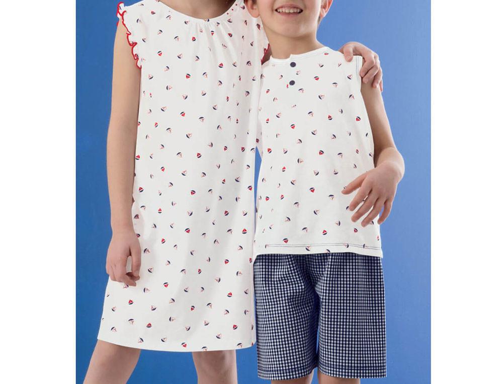 Pyjama enfant garçon Moussaillons 100% coton