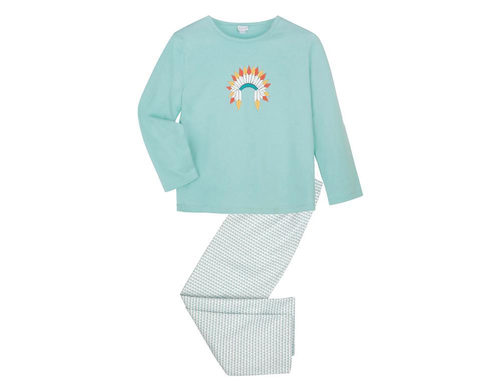 Pyjama enfant et pyjashort enfant Petit indien