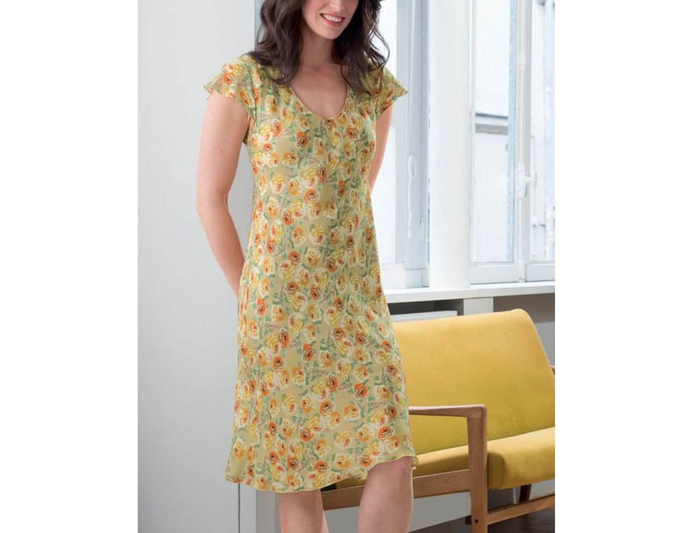 Vêtement femme jersey uni Lorène