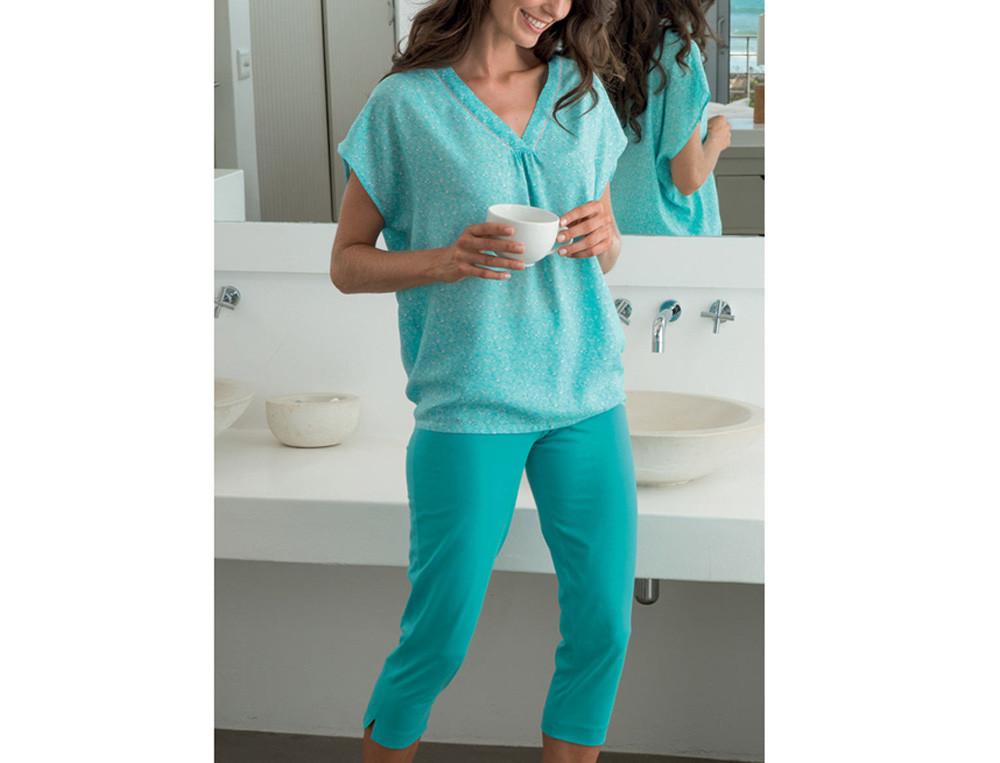 Vêtements femme coloris turquoise Perle d'écume