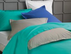 Linge de lit voile de coton finitions délicates