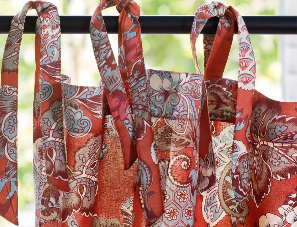 Vorhang-bedruckt Blumenpalast Baumwolle Linvosges