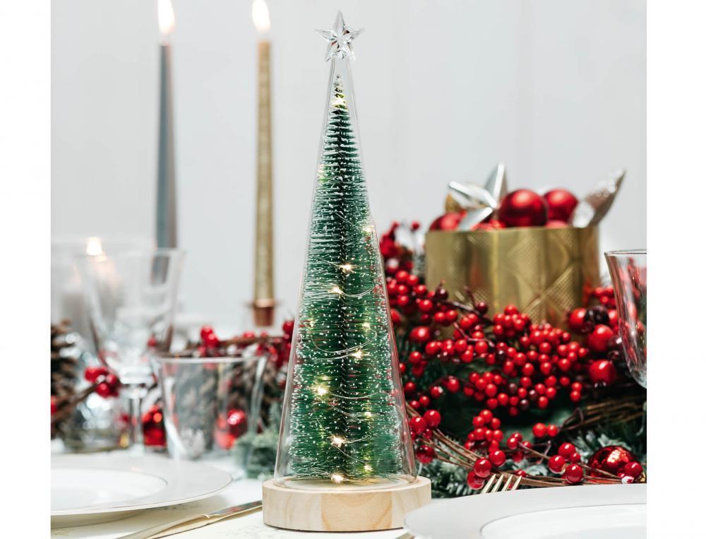 Weihnachtsbaum Festtagstisch Linvosges