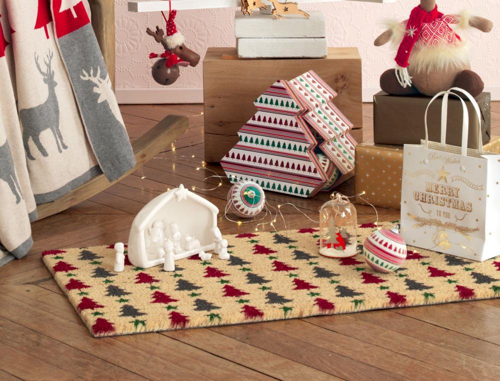 Weihnachtsschmuck Fußmatte O Tannenbaum