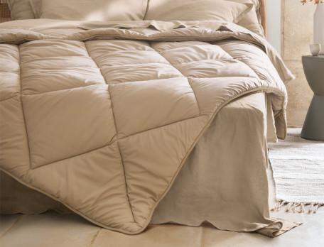 Winterdecke Perkal Uni-Komfort