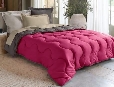 Winterdecke Perkal Zweifarbige Bettdecke