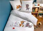 Parures de lit bébé et enfant