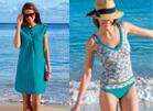 Robe de plage et maillot de bain