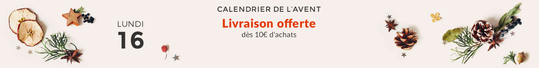 LIVRAISON OFFERTE dès 10€ d'achats
