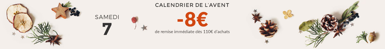-8€ de remise immédiate dès 110€ d'achats