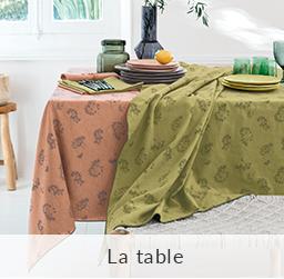 Linvosges : la table Printemps-Eté