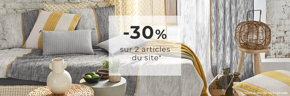 Linvosges : -30% sur 2 articles du site