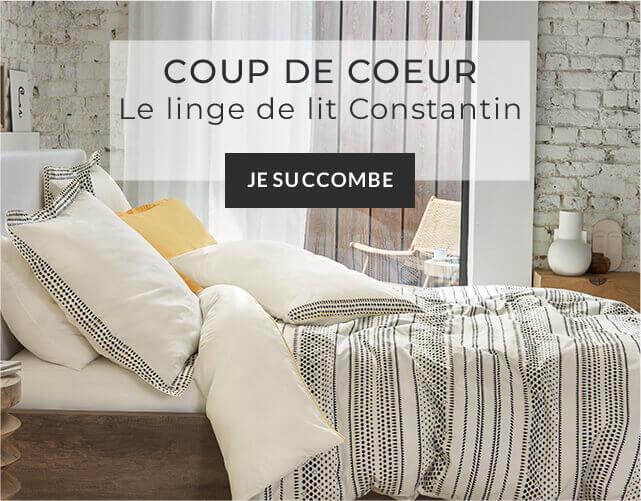 Coup de cœur Linvosges : le linge de lit Constantin