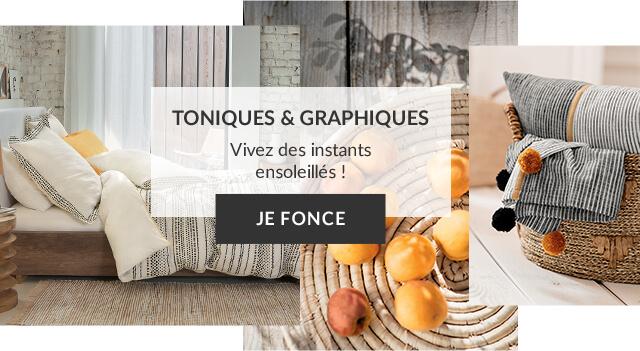 Linvosges : le linge de maison tonique et graphique